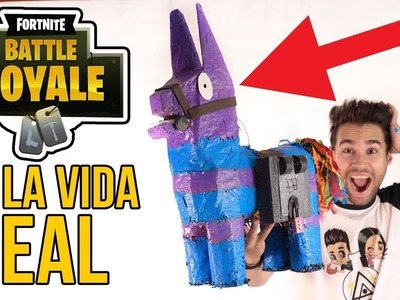 Objeto de FORTNITE en la VIDA REAL - FORTNITE BATTLE ROYALE