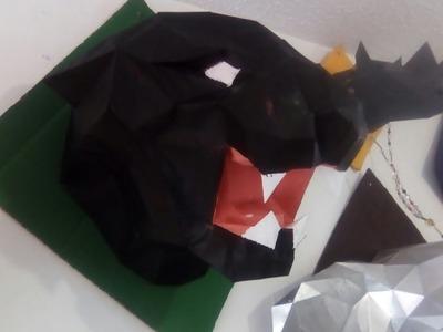 Papercraft como hacer una pantera