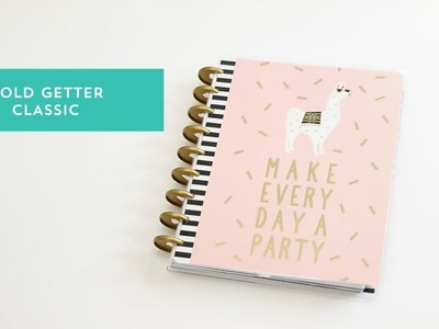 Planner Gold Getter - The Happy Planner 2018