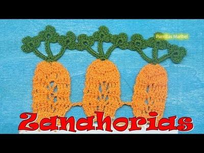 Puntilla 63 | Zanahorias ( Cristy Salgado ) | Puntillas Maribel
