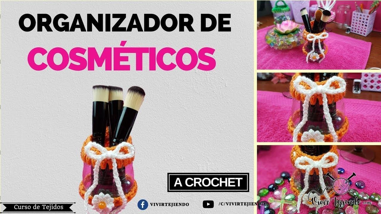 Regalo para mamá | Organizador de Cosméticos a Crochet | Regalo día de la Madre