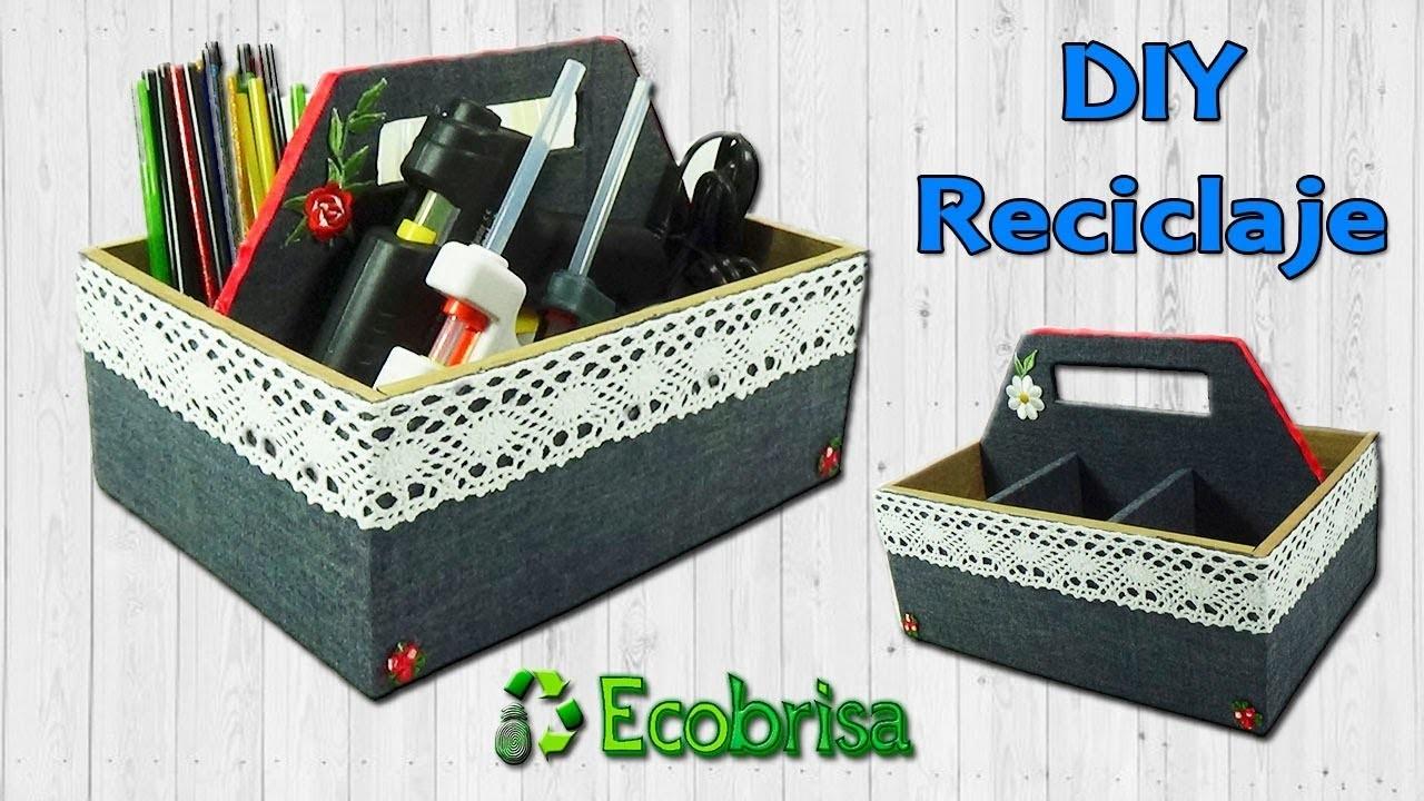 Reto EcoBrisa :: Organizador Práctico de Cartón