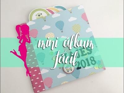 Scrapbooking - Mini álbum fácil y rápido