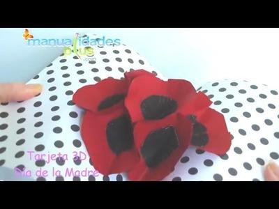 Tarjeta en 3D para el Día de la Madre