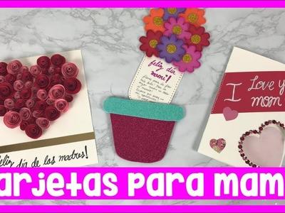 TARJETAS PARA MAMÁ FÁCILES DE HACER (Día de las madres) | CREATIVA OFFICIAL ️????❤️????????