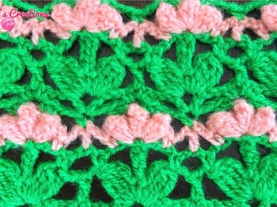 TEJIDOS A CROCHET: Flores Popcorn. HOW TO CROCHET: Flowers Popcorn