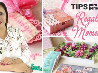 TIPS | Cómo Personalizar y Regalar Momentos Especiales | Scrapbook Ideas - Claudia Rafaella