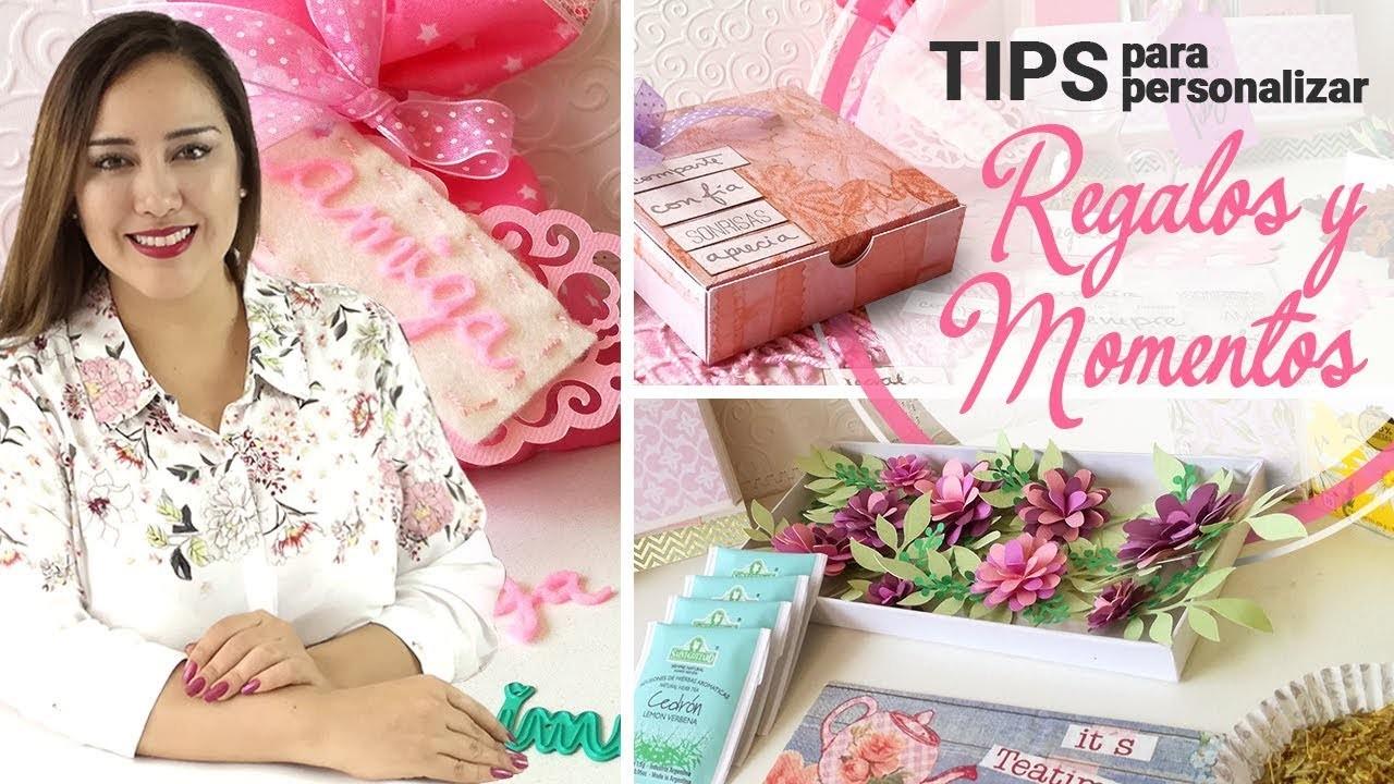 TIPS | Cómo Personalizar y Regalar Momentos Especiales | Scrapbook Ideas - Claudia Rafaella