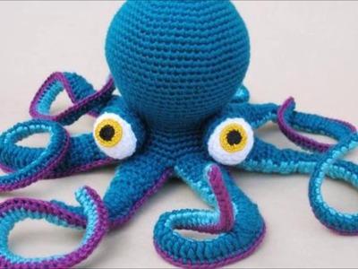 Top 10 crochet amigurumis de muñecos de animales de mar como ballenas o caballitos de mar
