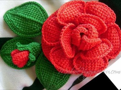 Top 10 crochet flores de ganchillo tejidas a mano