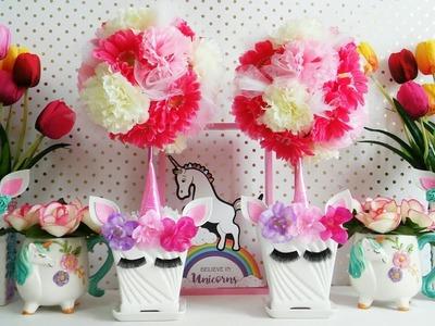 Topario Unicornio de Flores