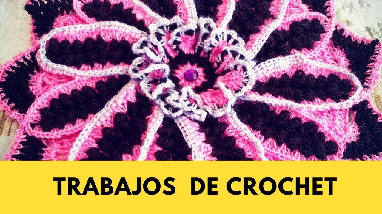 Trabajos de crochet