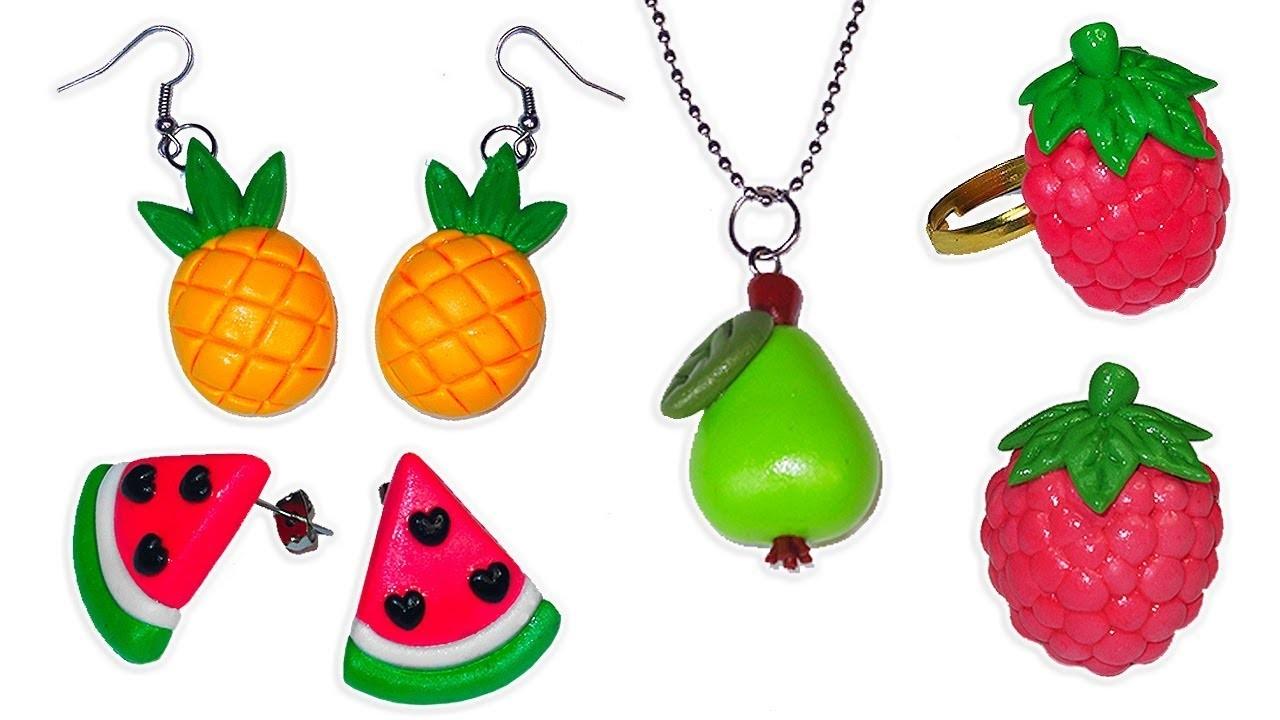 ????????Tutorial: Accesorios de Frutas ( 4 en 1 )????????