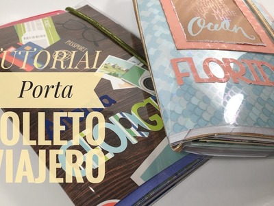 TUTORIAL: Porta Folleto Viajero