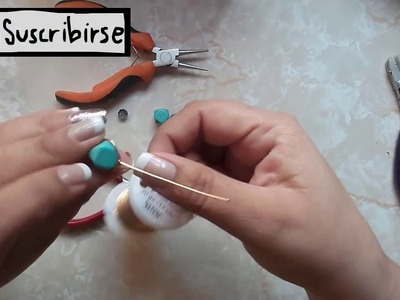 Bisuteria - Aretes faciles de hacer.