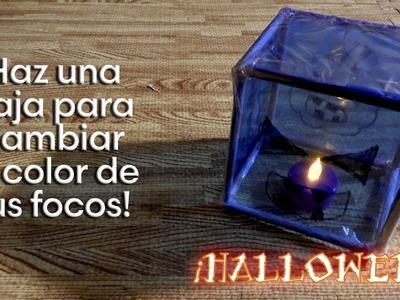 Como cambiar el color de la luz de tus focos para este Halloween