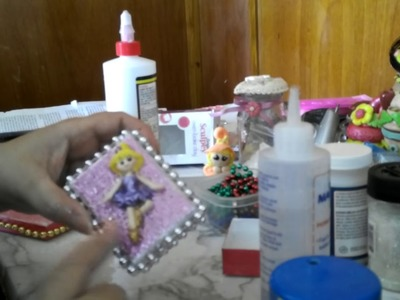Como decorar cajitas de regalos.how to  decorate jewelry boxes