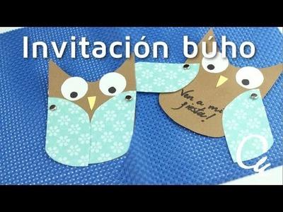 Cómo hacer invitaciones para fiestas en forma de búho | facilisimo.com