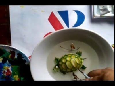 Como pintar una Tortuga en 3D