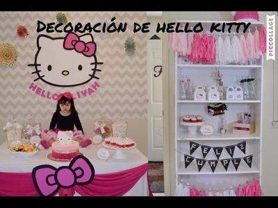 Decoración de Hello Kitty