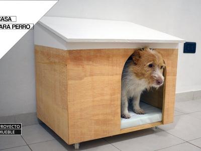 DIY Casa Para Perro. ( Dog House )