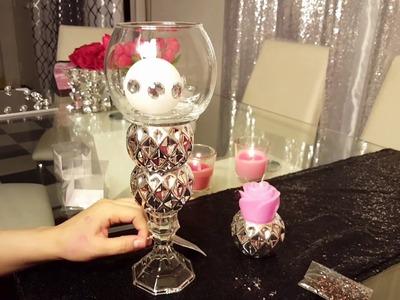 DIY dollar Tree Como hacer un candelabro de mesa ???? super hermoso