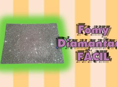 DIY | Fomy Diamantado | FÁCIL | PumitaNegraArt????
