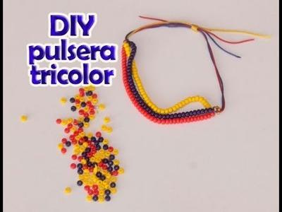DIY Pulsera Tricolor Selección
