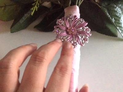 DIY: ramo de flores artificiales