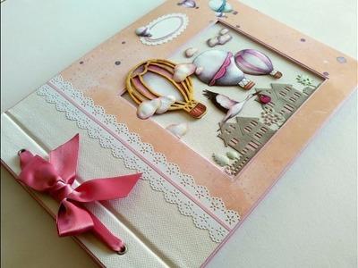LIBRO DE FIRMAS PARA UNA BABY SHOWER. BABY SHOWER GUESTBOOK, Kora projects