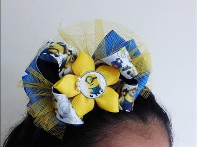 Moño Boutique facil, Ribbon hair bow