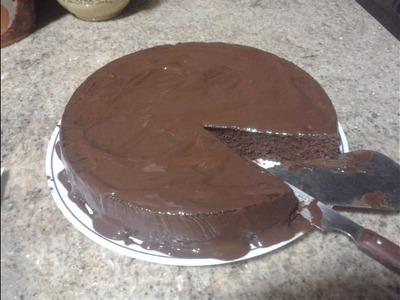 Receta Brownie de chocolate al microondas, muy rápido y fácil de hacer!!