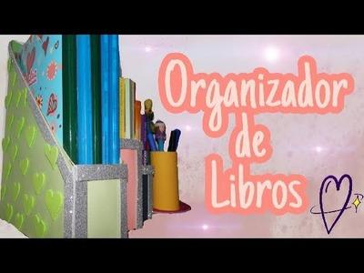 REGRESO A CLASES! DIY ORGANIZADOR DE ESCRITORIO. LIBROS | Barbara Castro