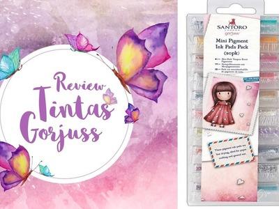 Tintas de pigmento Gorjuss de Santoro. Review y opinión Dulce Manzana