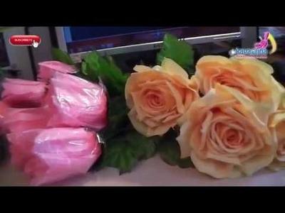 Tips de hojas de flores artificiales