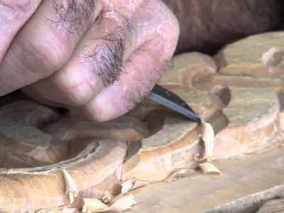 Uso de la gubia fishtail