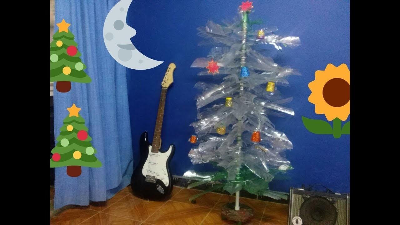 ideas de como hacer un arbol de navidad 1 Idea Como Hacer Rbol De Navidad Con Plstico Reciclado