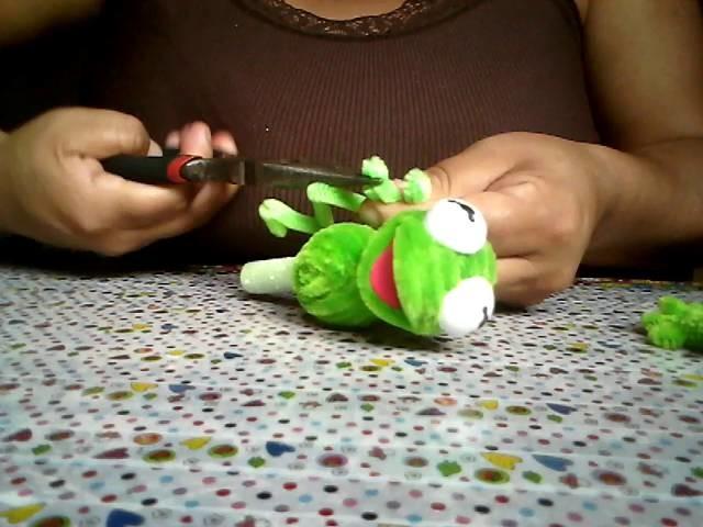 2a parte de la rana rene en limpiapipas