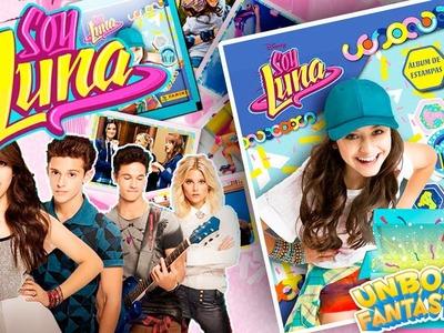 Álbum de SOY LUNA Temporada 2 + 100 SOBRES de Cromos, Pegatinas o Estampas! - Unboxing Fantastico