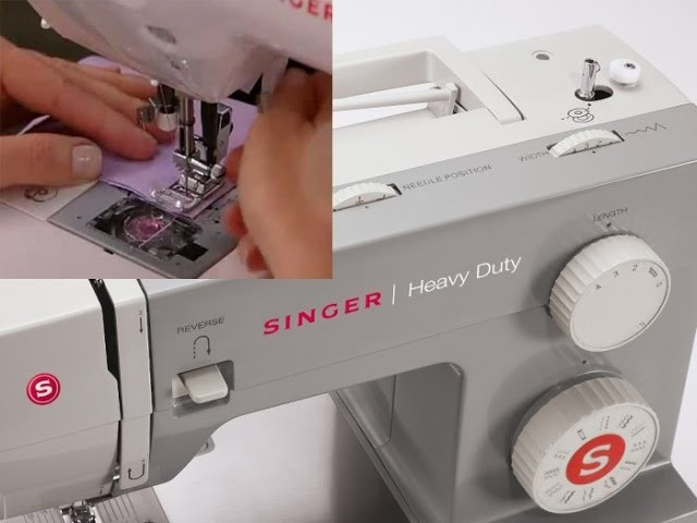 Aprendiendo a Usar mi maquina de coser Singer 2