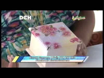 Caja con Textura - Hazlo Tú - Así de Fácil