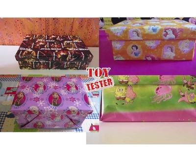 CAJA SORPRESA 1 HORA de unboxing de cajas con juguetes para niños (RECOPILACIÓN)