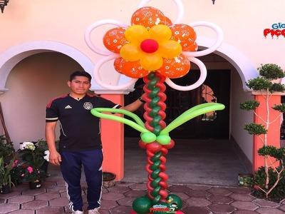 Columna de flor gigante video # 56