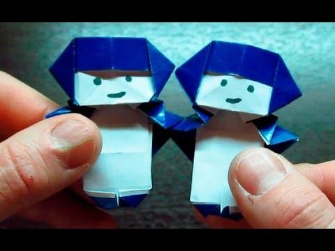 Como hacer un GEMINIS de papel | Origamis de papel HOROSCOPO (Muy fácil)