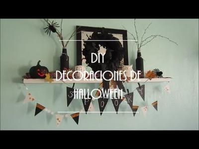 DECORACIONES DE HALLOWEEN SIN GASTO!   COMO AHORRAR EN HALLOWEEN!