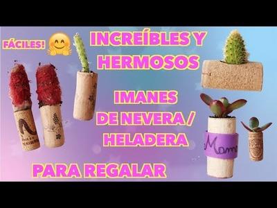 """""""DIY"""" Increíbles y Hermosos IMANES de Nevera o Heladera! Para decorar o regalar!????"""