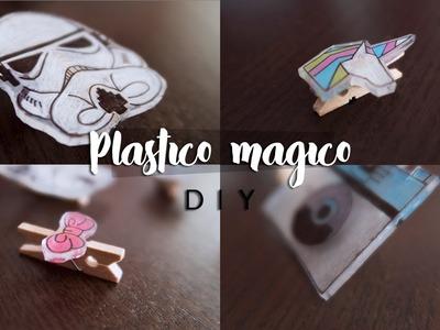 DIY | Papelería con Plástico Mágico
