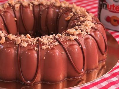 Gelatina de Nutella | Postre sin Horno y con Pocos Ingredientes!