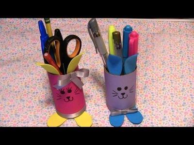 Lapiceros de conejos para los niños (easter)