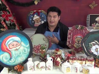 Los secretos de la Pintura decorativa Navideña (1.4)